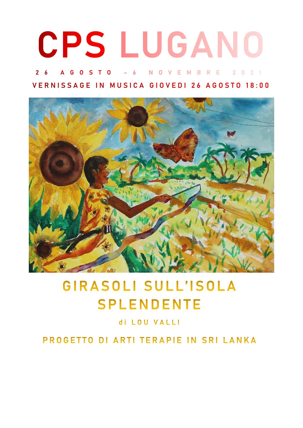 Read more about the article GIRASOLI SULL'ISOLA SPLENDENTE DI LOU VALLI – PROGETTO DI ARTI TERAPIE IN SRI LANKA – 26 agosto   6 novembre 2021